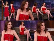 "Anne Hathaway - ""Jimmy Kimmel"" x1 Collage"