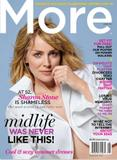 "Sharon Stone | Canadian ""More"" Magazine | Summer 2010 | 3 leggy pics"