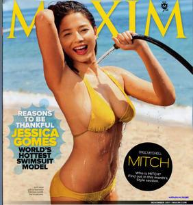 Jessica Gomes ~ Maxim Nov '11