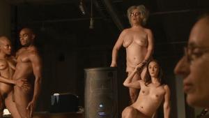 Casilda Saratsinka Naked On Stage